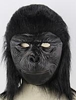 preiswerte -Urlaubsdekoration Halloween-Dekorationen Halloween-Masken / Halloween unterhaltsam Dekorativ / Cool Schwarz 1pc