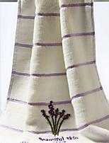 Недорогие -Высшее качество Полотенца для мытья, Цветочный принт 100% хлопок Ванная комната 1 pcs