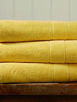 abordables -Qualité supérieure Serviette de bain, Couleur Pleine 100% Coton Salle de  Bain 1 pcs