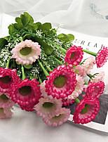 Недорогие -Искусственные Цветы 1 Филиал Классический Восточный / европейский Ромашки Букеты на стол