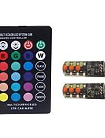 Недорогие -2pcs T10 Автомобиль Лампы 2 W COB 100 lm 6 Светодиодная лампа Лампа поворотного сигнала Назначение