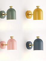 economico -JZGLDS Nuovo design / Adorabile Semplice / Moderno / Contemporaneo Lampade da parete Sala studio / Ufficio / Al Coperto Metallo Luce a muro 110-120V / 220-240V 40 W