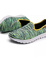 Недорогие -Муж. Комфортная обувь Полотно Лето На каждый день Мокасины и Свитер Красный / Зеленый / Синий