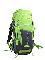 cheap -50 L Rucksack - Breathability Outdoor Hiking 100g / m2 Polyester Knit Stretch Orange, Green, Blue
