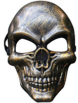 abordables -Décorations de vacances Décorations d'Halloween Masques d'Halloween Soirée / Décorative / Cool Or / Argent 1pc