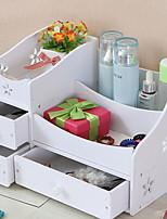 Недорогие -Место хранения организация Косметологический макияж пластик Нерегулярная форма Многослойный