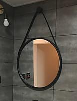 Недорогие -Зеркало Зеркальная поверхность Модерн Металл 1шт - Зеркальная поверхность Украшение ванной комнаты