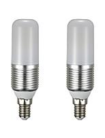 economico -2pcs 9 W 850 lm E14 LED a pannocchia T 60 Perline LED SMD 2835 Nuovo design Bianco caldo / Bianco 85-265 V