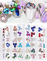 cheap -1 pcs Rhinestones Best Quality Pear nail art Manicure Pedicure Daily Geometric / Colorful