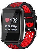 Недорогие -Смарт Часы GF8 для Android iOS Bluetooth Спорт Водонепроницаемый Пульсомер Измерение кровяного давления Сенсорный экран / Израсходовано калорий / Длительное время ожидания / Напоминание о звонке