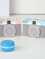 cheap -Camera Shape Card Paper Favor Holder with Pattern / Print Favor Boxes - 12pcs