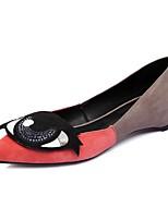 Недорогие -Жен. Комфортная обувь Замша Весна лето На плокой подошве На плоской подошве Синий / Розовый