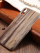 Недорогие -Кейс для Назначение Apple iPhone X / iPhone 8 Ультратонкий Кейс на заднюю панель Имитация дерева Твердый ПК для iPhone X / iPhone 8 Pluss / iPhone 8