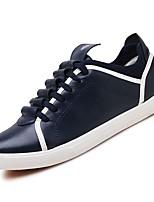 cheap -Men's PU(Polyurethane) Fall Comfort Sneakers White / Black / Blue