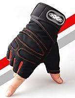 Недорогие -перчатки / Перчатки для занятий спортом / Тренировочные боксерские перчатки для Спортивныеперчатки Противоскользящий / Мягкость / Бокс Трикотаж 1 комплект Темно-синий / Красный / Светло-синий