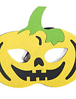 cheap -Holiday Decorations Halloween Decorations Halloween Masks / Halloween Entertaining Decorative / Cool Yellow 1pc