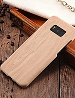 economico -Custodia Per Samsung Galaxy S8 Plus / S8 Ultra sottile Per retro Simil-legno Resistente PC per S8 Plus / S8 / S7 edge