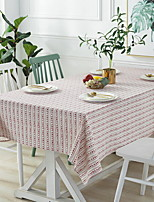 cheap -Contemporary 100g / m2 Polyester Knit Stretch / Nonwoven Square Table Cloth Geometric Table Decorations 1 pcs