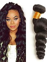 abordables -3 offres groupées Cheveux Indiens Ondulation Lâche Cheveux humains Tissages de cheveux humains / Bundle cheveux 8-28 pouce Tissages de cheveux humains Meilleure qualité / Grosses soldes Couleur