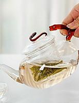 economico -vetro Heatproof / Tè Irregolare 1pc bollitore