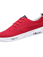 cheap -Men's Denim Summer Comfort Sneakers Black / Gray / Red