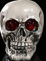 cheap -Holiday Decorations Halloween Decorations Halloween Masks Party / Decorative / Cool White / Silver / Beige 1pc