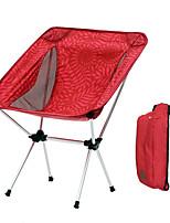 Недорогие -Складное туристическое кресло На открытом воздухе Легкость, Складной Алюминиевый сплав для Рыбалка / Пляж / Походы - 1 человек Темно-синий / Пурпурный / Кофейный