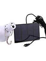 Недорогие -1шт 3 W Светодиодный уличный фонарь / Солнечный свет стены Работает от солнечной энергии Холодный белый 5 V Уличное освещение / Бассейн / Сад