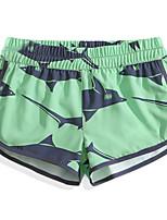 cheap -Women's Swim Shorts Ultra Light (UL), Quick Dry, Breathable POLY / Elastane Swimwear Beach Wear Board Shorts / Bottoms Animal Surfing / Beach / Watersports
