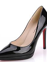 abordables -Femme Chaussures Cuir Verni Printemps Confort Chaussures à Talons Talon Aiguille Noir / Rose