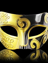cheap -Holiday Decorations Halloween Decorations Halloween Masks Decorative / Cool Gold 1pc