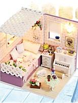 Недорогие -Кукольный домик Милый утонченный Романтика Современный Куски Детские Взрослые Девочки Игрушки Подарок