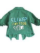 cheap -Kids / Toddler Girls' Print Long Sleeve Suit & Blazer