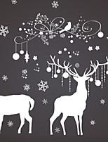 economico -Ornamenti di Natale Vacanza PVC Quadrato Originale Decorazione natalizia