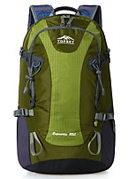 cheap -35 L Hiking Backpack - Wearable, Breathability Outdoor Hiking Nylon Forest Green