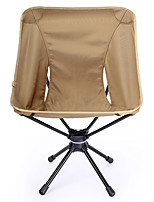 cheap -BEAR SYMBOL Camping Folding Chair Outdoor Rain-Proof, Breathability, Adjustable Flexible Oxford Cloth, 7075 Aluminium for Fishing / Hiking / Camping - 1 person Gray / Yellow