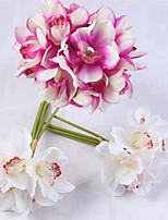 Недорогие -Искусственные Цветы 6 Филиал Классический / Односпальный комплект (Ш 150 x Д 200 см) Стиль / Пастораль Стиль Гортензии Букеты на стол