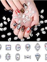 abordables -1 pcs Bijoux pour ongles Strass Meilleure qualité Créatif Manucure Manucure pédicure Quotidien Géométrique