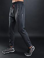 abordables -Homme Poche Pantalon Jogger / Pantalon de Survêtement - Noir, Gris, Bleu royal Des sports Couleur unie Pantalons tissés Fitness, Gymnastique, Faire des exercices Tenues de Sport Séchage rapide