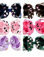 Недорогие -Швейные булавки Аксессуары для волос Шёлковая ткань рипсового переплетения парики Аксессуары Девочки 1pcs штук 10 см см На каждый день Украшения для волос обожаемый