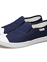 cheap -Men's Canvas Spring &  Fall Comfort Loafers & Slip-Ons Black / Gray / Blue