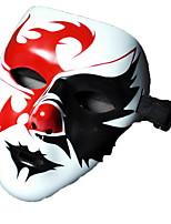 preiswerte -Urlaubsdekoration Halloween-Dekorationen Halloween-Masken / Halloween unterhaltsam Dekorativ / Cool Rot 1pc