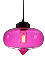 baratos -Circular / Esfera / Linear Luzes Pingente Luz Ambiente Vidro Vidro 110-120V / 220-240V