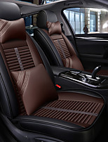 Недорогие -ODEER Чехлы на автокресла Чехлы для сидений Черный / коричневый Кожа Мультяшная тематика / Общий Назначение Универсальный Все года Все модели