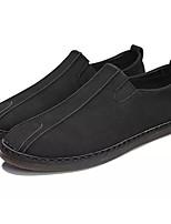 Недорогие -Муж. Обувь Bullock Кожа Осень Мокасины и Свитер Черный / Серый / Коричневый