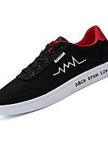 cheap -Men's PU(Polyurethane) Fall Comfort Sneakers Gray / Black / White / Black / Red