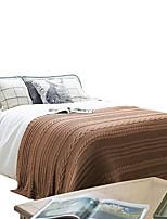 Недорогие -Супер мягкий, Активный краситель Полоски Акриловые волокна одеяла