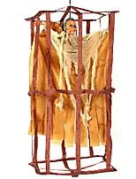Недорогие -Праздничные украшения Украшения для Хэллоуина Хэллоуин Развлекательный / Декоративные объекты Декоративная / Cool Желтый 1шт