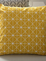 Недорогие -1 штук Полиэстер Наволочки, Геометрический принт / Рисунок С узором / Современный