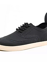 cheap -Men's PU(Polyurethane) Fall Comfort Oxfords Black / Brown
